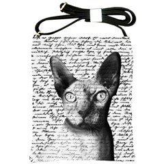 Sphynx Cat Shoulder Sling Bags