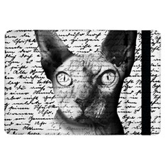 Sphynx Cat Ipad Air Flip by Valentinaart