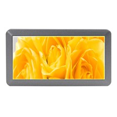 Yellow Neon Flowers Memory Card Reader (mini) by Simbadda