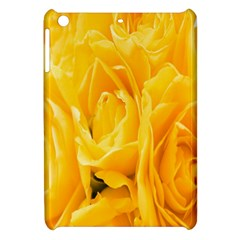 Yellow Neon Flowers Apple Ipad Mini Hardshell Case by Simbadda