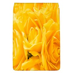 Yellow Neon Flowers Flap Covers (l)  by Simbadda