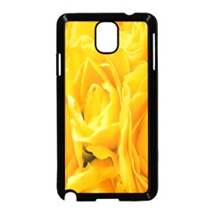 Yellow Neon Flowers Samsung Galaxy Note 3 Neo Hardshell Case (black)