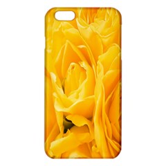 Yellow Neon Flowers Iphone 6 Plus/6s Plus Tpu Case by Simbadda