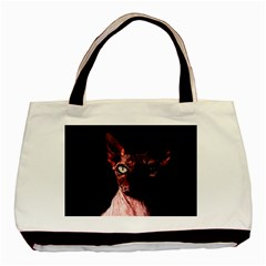 Sphynx Cat Basic Tote Bag by Valentinaart