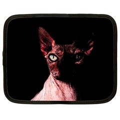 Sphynx Cat Netbook Case (xl)  by Valentinaart