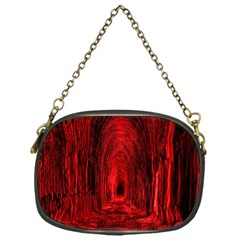 Tunnel Red Black Light Chain Purses (one Side)  by Simbadda