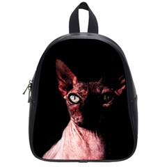 Sphynx Cat School Bags (small)  by Valentinaart