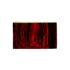 Tunnel Red Black Light Cosmetic Bag (xs) by Simbadda