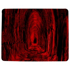 Tunnel Red Black Light Jigsaw Puzzle Photo Stand (rectangular) by Simbadda