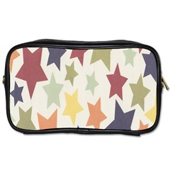 Star Colorful Surface Toiletries Bags 2 Side by Simbadda