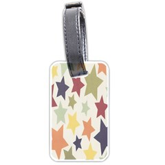 Star Colorful Surface Luggage Tags (one Side)  by Simbadda