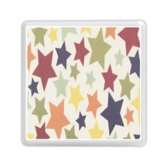 Star Colorful Surface Memory Card Reader (square)