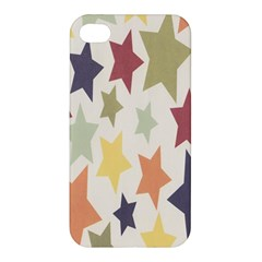 Star Colorful Surface Apple Iphone 4/4s Premium Hardshell Case