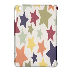 Star Colorful Surface Apple Ipad Mini Hardshell Case (compatible With Smart Cover)