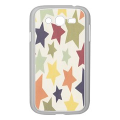 Star Colorful Surface Samsung Galaxy Grand Duos I9082 Case (white) by Simbadda