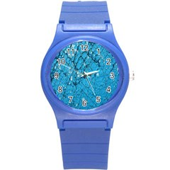 Surface Grunge Scratches Old Round Plastic Sport Watch (s) by Simbadda
