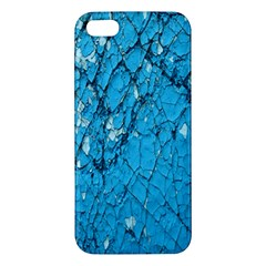 Surface Grunge Scratches Old Apple Iphone 5 Premium Hardshell Case