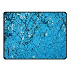 Surface Grunge Scratches Old Double Sided Fleece Blanket (small)  by Simbadda
