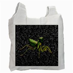 Mantis Recycle Bag (two Side)  by Valentinaart