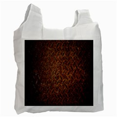 Texture Background Rust Surface Shape Recycle Bag (one Side) by Simbadda