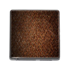 Texture Background Rust Surface Shape Memory Card Reader (square) by Simbadda