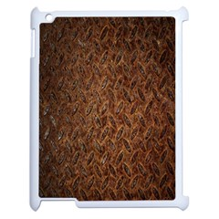 Texture Background Rust Surface Shape Apple Ipad 2 Case (white) by Simbadda