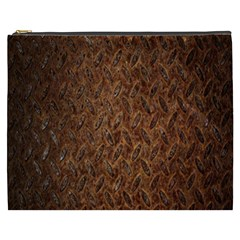 Texture Background Rust Surface Shape Cosmetic Bag (xxxl)