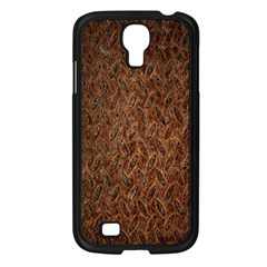 Texture Background Rust Surface Shape Samsung Galaxy S4 I9500/ I9505 Case (black) by Simbadda