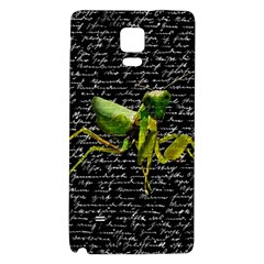 Mantis Galaxy Note 4 Back Case by Valentinaart