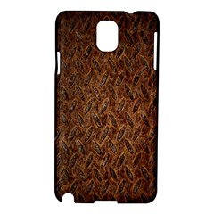 Texture Background Rust Surface Shape Samsung Galaxy Note 3 N9005 Hardshell Case by Simbadda