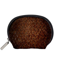 Texture Background Rust Surface Shape Accessory Pouches (small)  by Simbadda