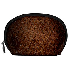 Texture Background Rust Surface Shape Accessory Pouches (large)  by Simbadda
