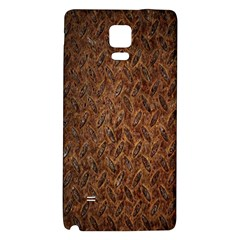 Texture Background Rust Surface Shape Galaxy Note 4 Back Case by Simbadda