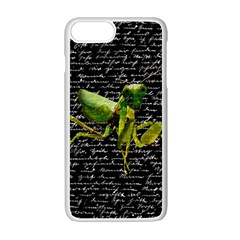 Mantis Apple Iphone 7 Plus White Seamless Case by Valentinaart