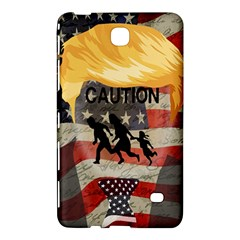 Caution Samsung Galaxy Tab 4 (7 ) Hardshell Case  by Valentinaart