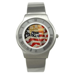 American President Stainless Steel Watch