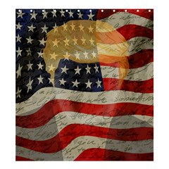 American President Shower Curtain 66  X 72  (large)  by Valentinaart