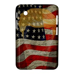 American President Samsung Galaxy Tab 2 (7 ) P3100 Hardshell Case  by Valentinaart