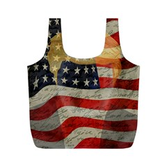 American President Full Print Recycle Bags (m)  by Valentinaart