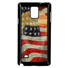 American President Samsung Galaxy Note 4 Case (black) by Valentinaart
