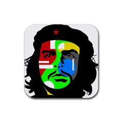 Che Guevara Rubber Coaster (square)  by Valentinaart