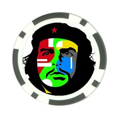 Che Guevara Poker Chip Card Guard (10 Pack) by Valentinaart