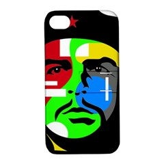 Che Guevara Apple Iphone 4/4s Hardshell Case With Stand by Valentinaart