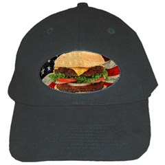Hamburger Black Cap
