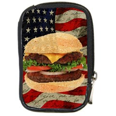 Hamburger Compact Camera Cases by Valentinaart