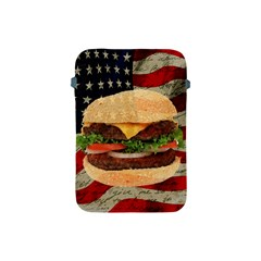 Hamburger Apple Ipad Mini Protective Soft Cases by Valentinaart