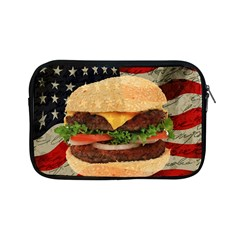Hamburger Apple Ipad Mini Zipper Cases by Valentinaart