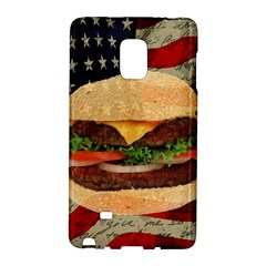 Hamburger Galaxy Note Edge by Valentinaart
