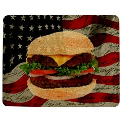 Hamburger Jigsaw Puzzle Photo Stand (rectangular) by Valentinaart