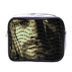 Kurt Cobain Mini Toiletries Bags by Valentinaart